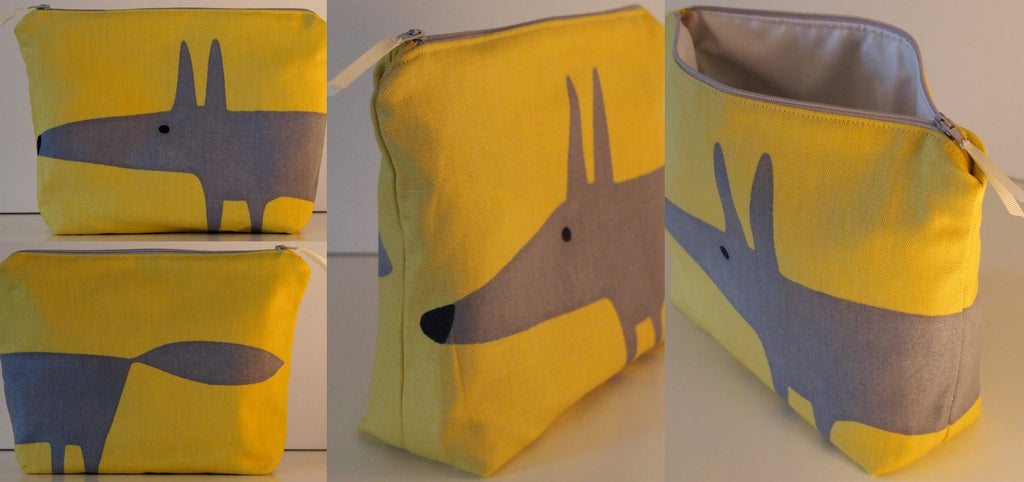 Scion Mr Fox Fabric Toiletry BagsCLICK FOR OPTIONS