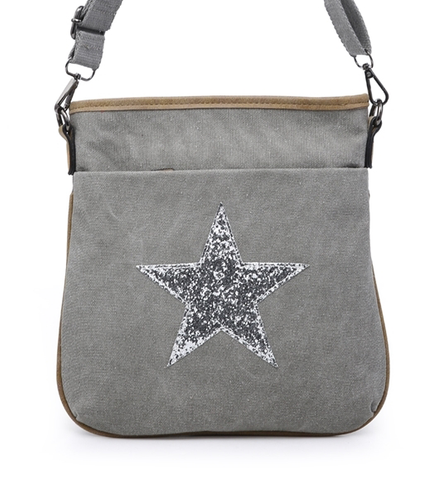 Grey Star Crossbody