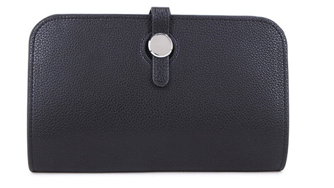 Black Wallet with Purse & Card Holder