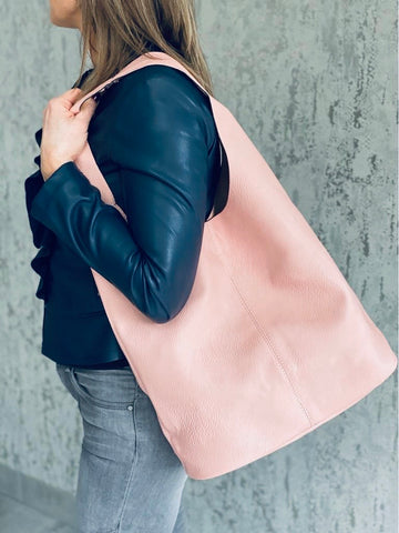 Pink Hobo Bag Set