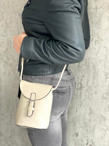 Mini Satchel Bag - Ivory
