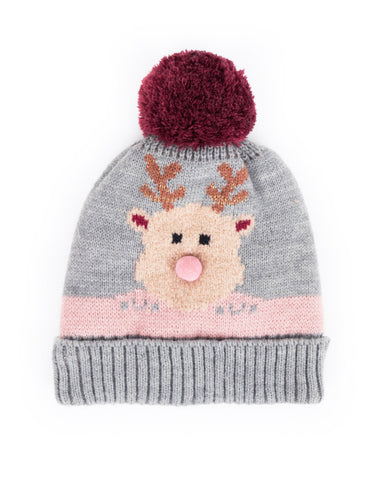 Childs Cosy Rudoph Hat