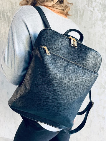 Black Lois Backpack