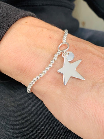 Delicate Star Beaded Bracelet
