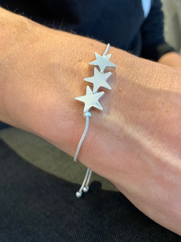 Triple Star Friendship Bracelet