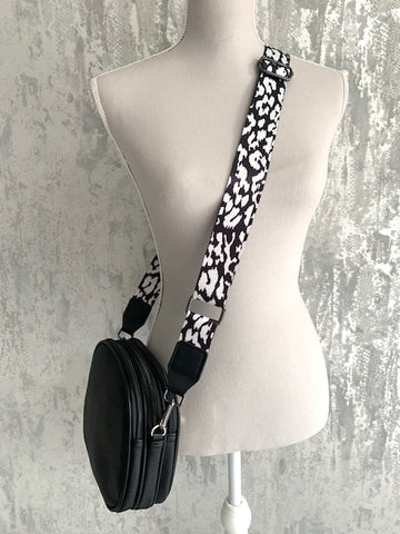 Black Darcey Strap Bag - Choose Your Strap!