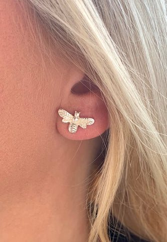 Delicate Bee Earrings