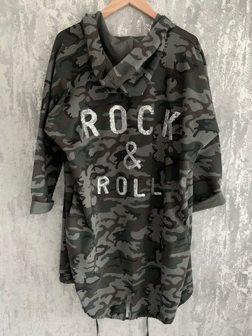 Camo Rock & Roll Jacket