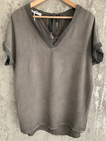 Garment Dyed Slouch Top