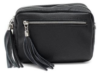 Willow Bag, Black Leather