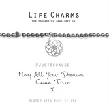 May All Your Dreams Come True Bracelet