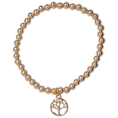 Tree Of Life Bracelet Gold