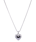 Short Reversible Heart Necklace