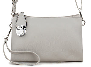 Pale Grey Ava Bag