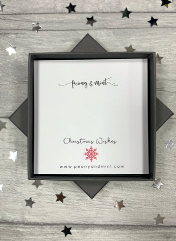 Peony & Mint Christmas Wishes Gift Box