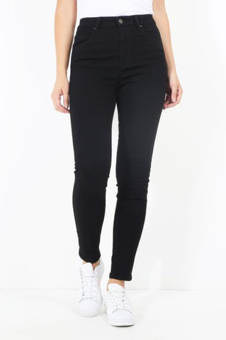 Black High Waisted Skinny Fit Jeans