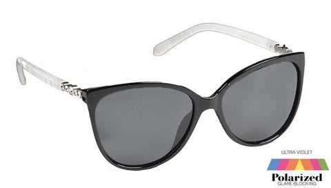 Natalie Polarized Sunglasses - Black