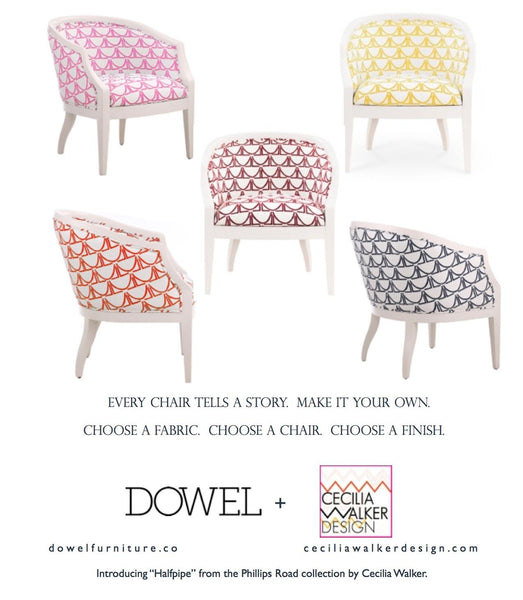Textile Collaboration with Dowel Furniture