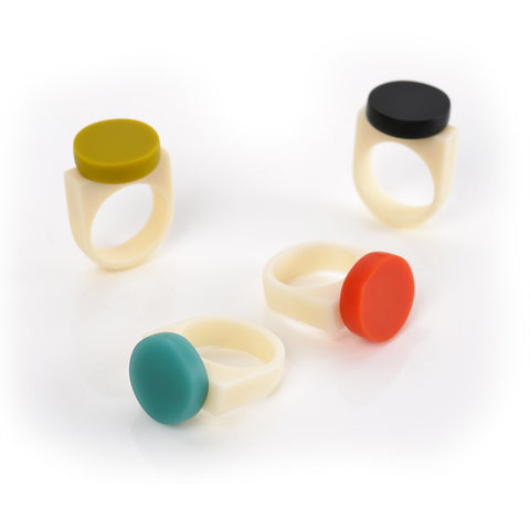 Geometric statement rings