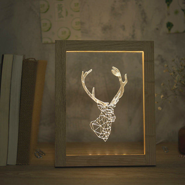 3D Wire Frame Light