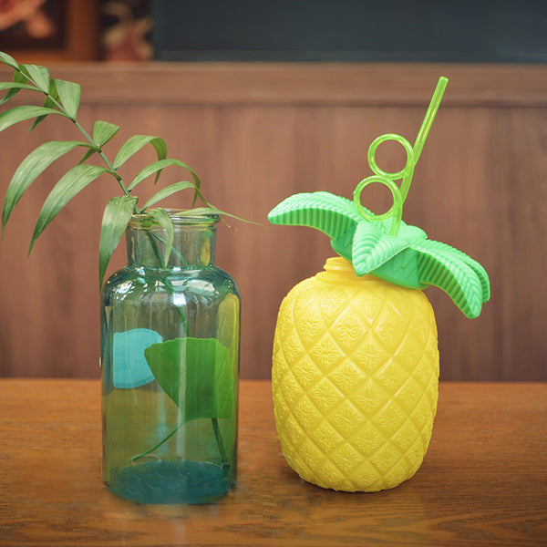 Pineapple Cup & Straw