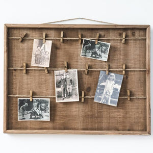 Clothesline Picture Frame