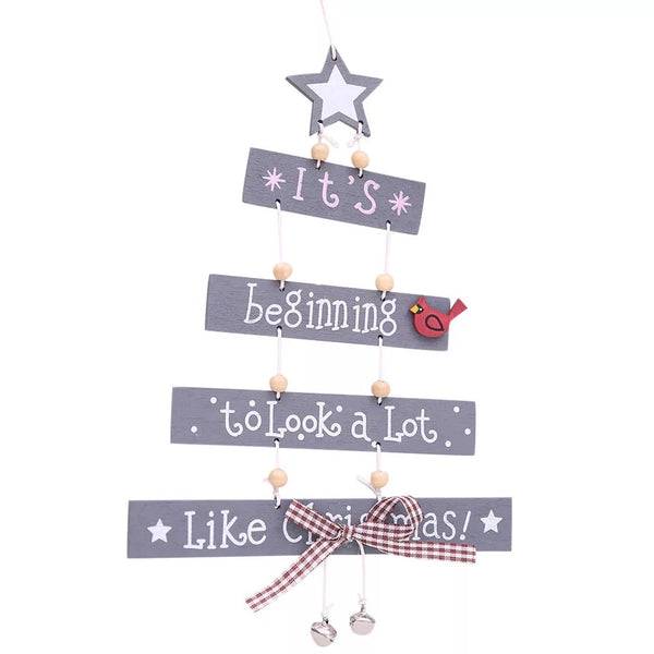 Christmas Hanging Plaque