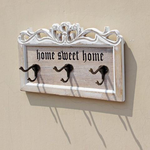 Home Sweet Home Rustic Key Holder
