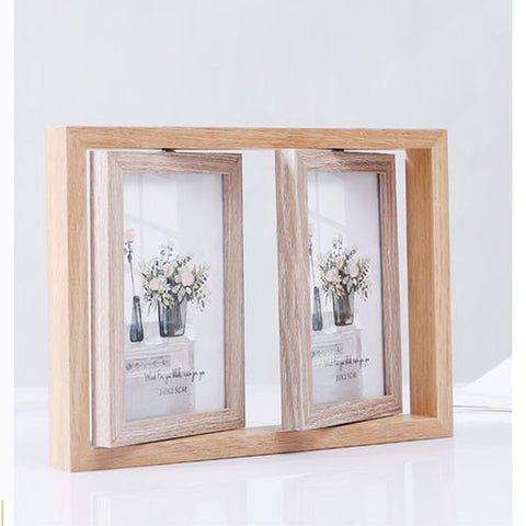 Twin Rotating Photo Frame