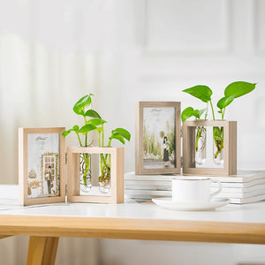 Photo Frame with Test Tube Vase