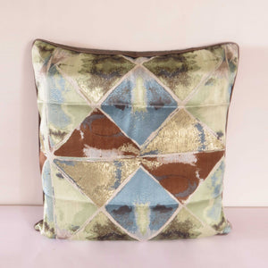 Geometic Triangles Cushion Cover - The Chic Pad
