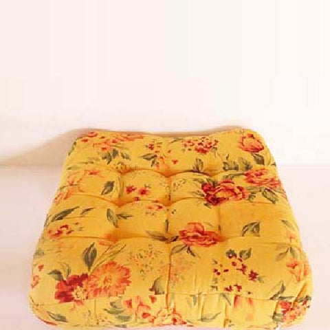 Floral Sanctuary Floor Cushion - The Chic Pad