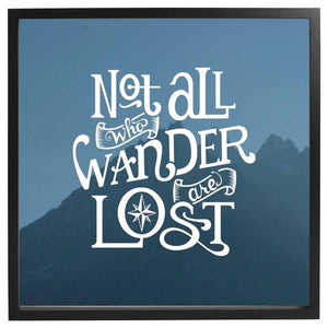 Wander Framed Quote