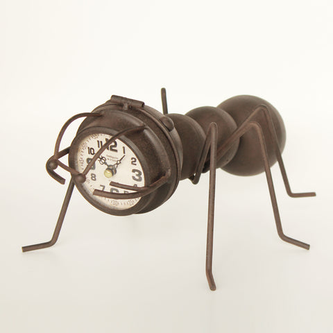 Caterpillar Desk Clock
