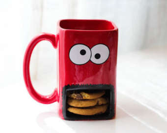 Cookie Monster Mug - The Chic Pad - 4