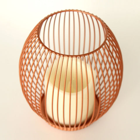 Battery Operated Copper Wire Lantern