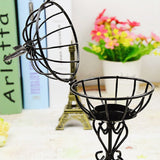 Round Bird Cage Candle Holder