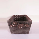 Dots Basket Organiser - The Chic Pad - 1