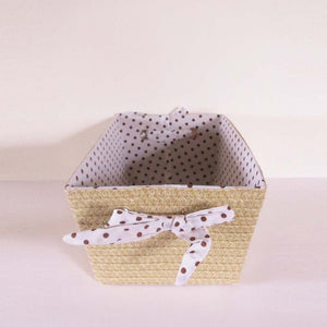 Dots Basket Organiser - The Chic Pad - 3