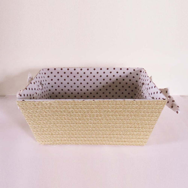 Dots Basket Organiser - The Chic Pad - 4