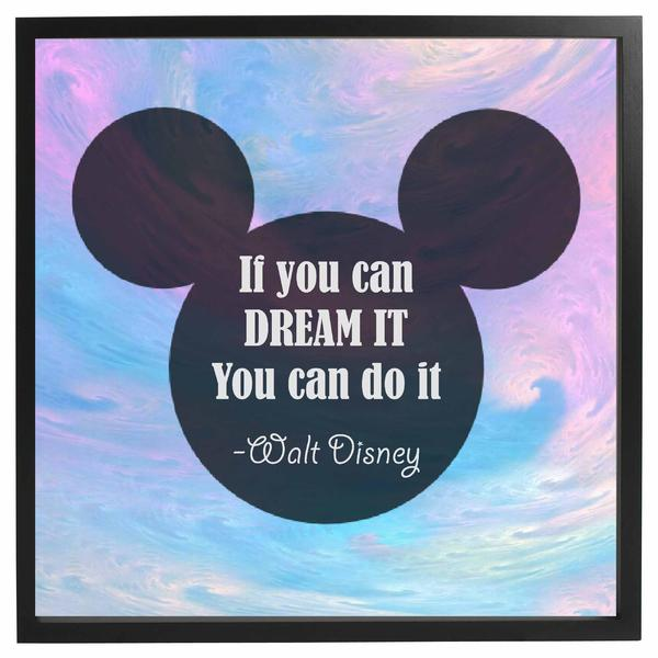 Dream It Do It Framed Quote