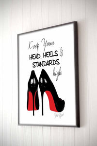 Head Heels & Standard Framed Quote