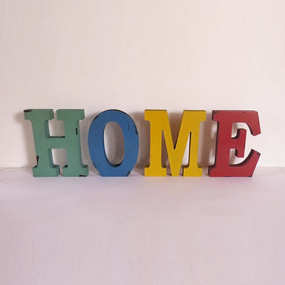 Free Standing Letters - HOME - The Chic Pad
