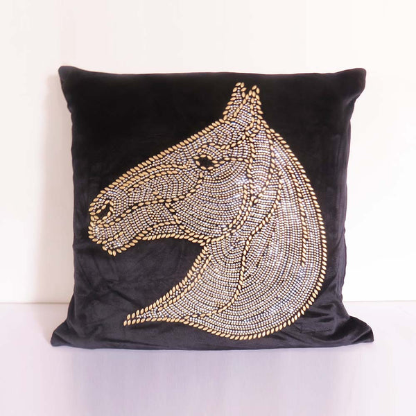 Horse Face Cushion Cover - The Chic Pad - 1