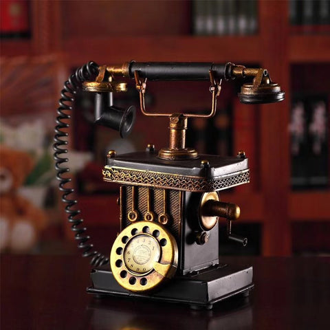 Rotary Dial Telephone Piggy Bank