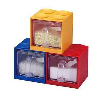 Lego Cube Stackable Storage - The Chic Pad - 3