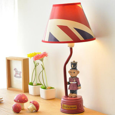 British Teddy Table Lamp