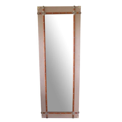 Riveted Mirror - The Chic Pad - 1