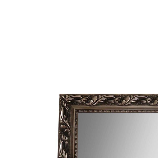 Silver Leaf Mirror - The Chic Pad - 2
