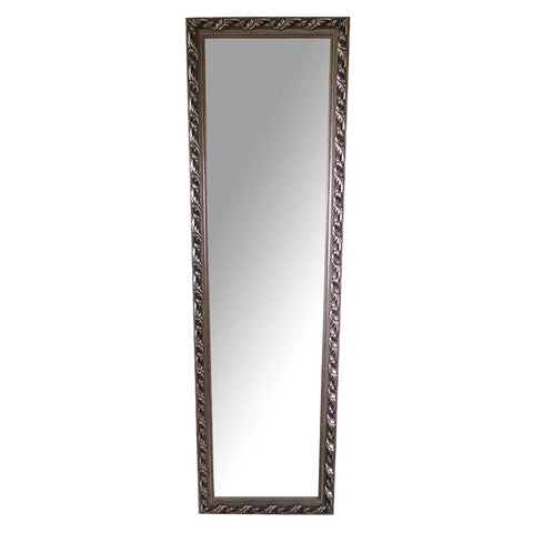 Silver Leaf Mirror - The Chic Pad - 1
